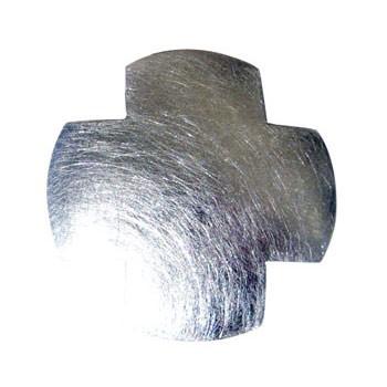 Hänger,Silber, icematt, 35x35mm