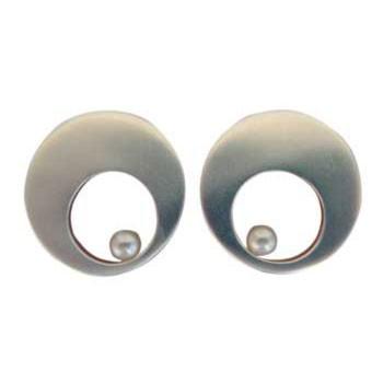 Ohrstecker mit Perle Durchmesser ca.: 33 mm siehe auch PG 133