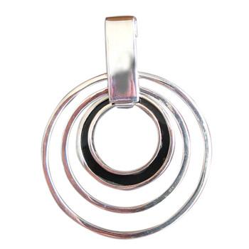 Silberanhänger mit BlackShell