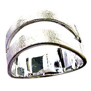 """Silberring """"franqueza"""" von Plata Pa`Ti Design Silberschmuck von Jörg Wilitzki"""