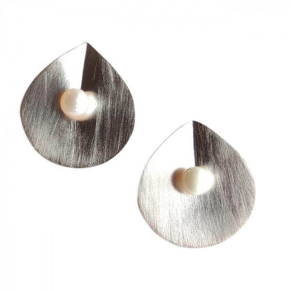 Ohrstecker ,Silber, Perle
