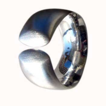 Ring, Silber, offen