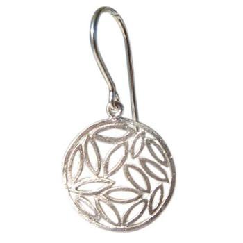 Ohrhänger Silber Durchmesser 20mm