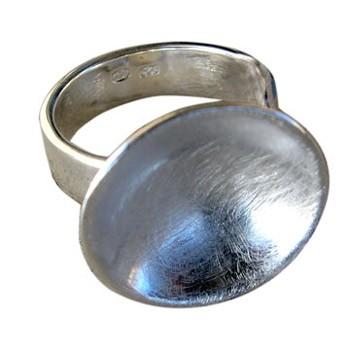 Parabolring, Silber, Icematt
