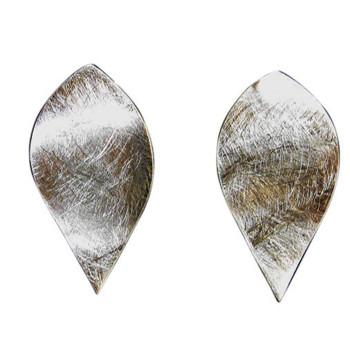 Ohrstecker, Silber, icematt