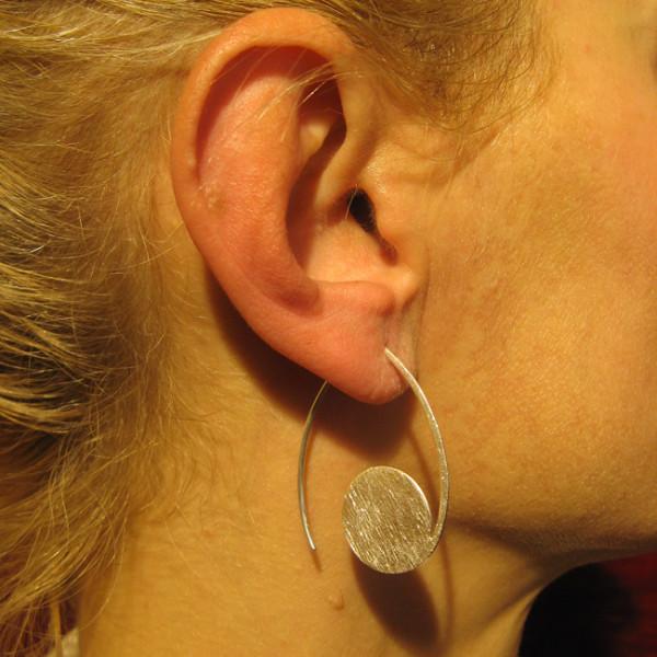 Ohrhänger Silber,icematt