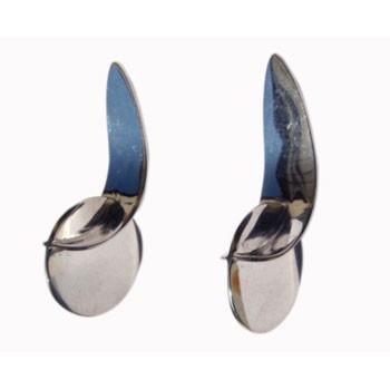 Ohrstecker Scheibe ca 11mm Durchmesser