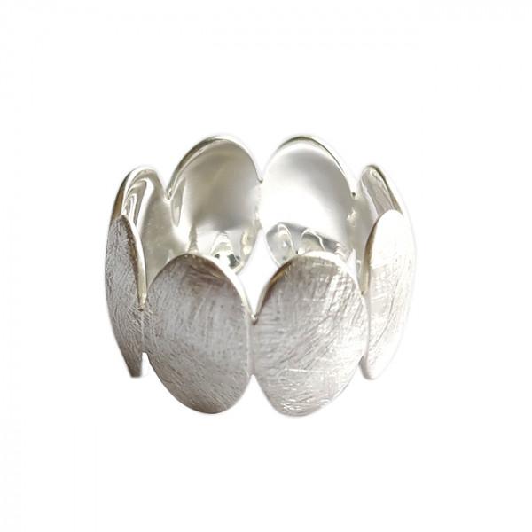 Ring, Silber, icematt