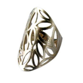 Ring, Silber , feinmatt