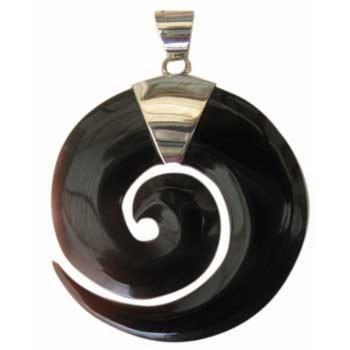 Hänger Horn Durchmesser ca. 35mm