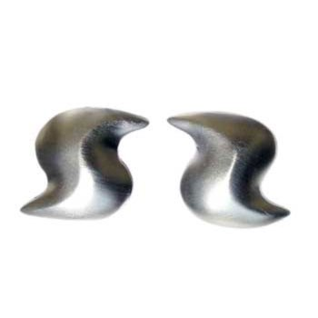 Ohrstecker Silber, feinmatt