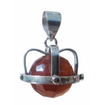 Hänger, Carneol Durchmesser ca. 20 mm