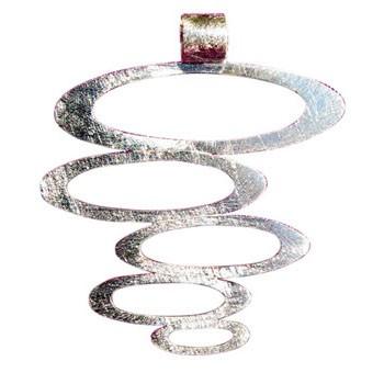 Hänger Silber ca. 45 x 40 mm
