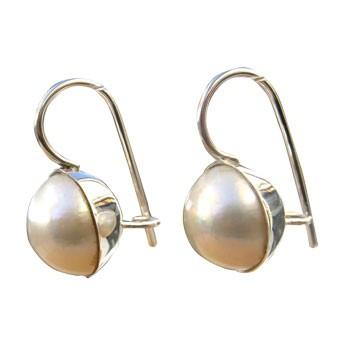 Ohrhänger, Silber mit MabeePerle