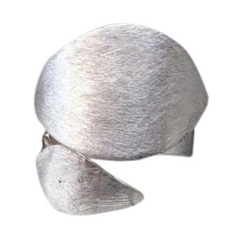 offener Silberring, icematt