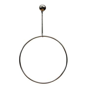 Ohrhänger, Silber mit Ringpendel
