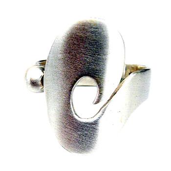 Silberring in zeitlosem Design von Plata Pa`Ti Design Silberschmuck von Jörg Wilitzki