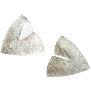 Ohrstecker ,Silber, icematt