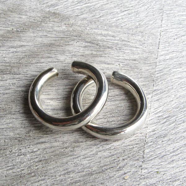 E 956 EARCUFF , Silber