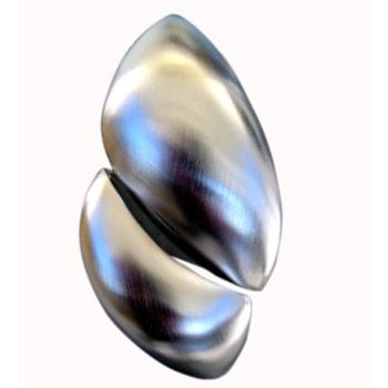 Hänger, Silber,gewölbt ca. 30 x 60 mm